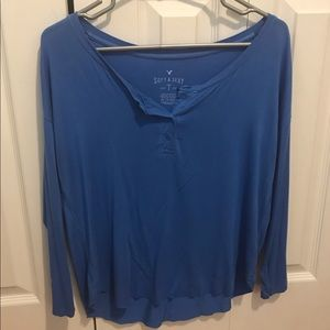 American Eagle Soft & Sexy Long Sleeve Shirt